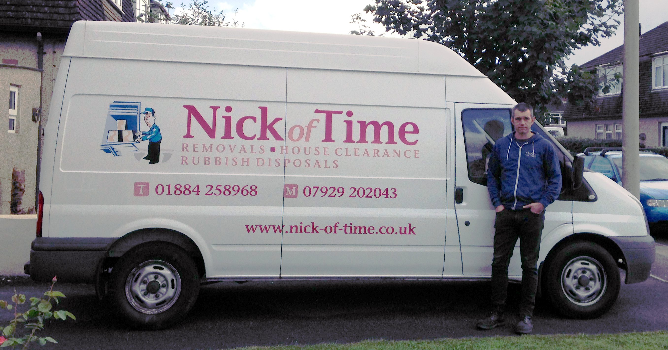 Man With A Van >> Competitive Man Van Hire Nick Of Time Tiverton Devon